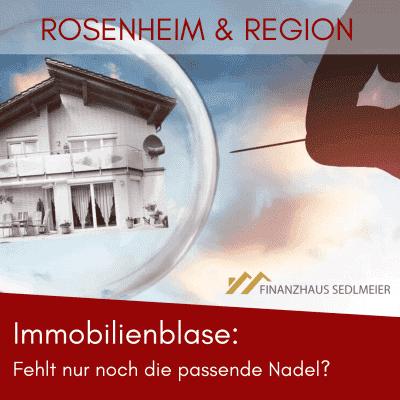 Immobilienpreisblase Rosenheim