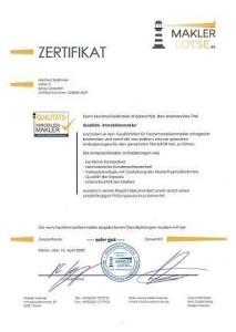 Zertifizierter Immobilienmakler Vergleich Rosenheim
