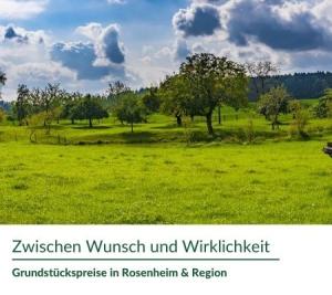 Grundstückspreise in der Region